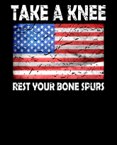 TakeAKnee-RestYourBone Spurs-flag-distress-3383x4192