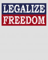 Funny Libertarian Legalize Freedom Liberty distressed shirt