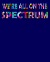 """""""Truth Well Told"""" brand Funny Wireless Engineer RF Signal We're all on the Spectrum shirt"""