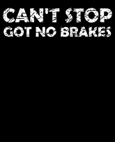 """""""Truth Well Told"""" brand Can't Stop Got No Brakes Nostalgic Kids Playground T-shirt"""